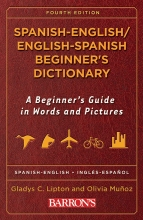 کتاب اسپانیایی Spanish English / English Spanish Beginner's Dictionary