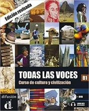 کتاب اسپانیایی TODAS LAS VOCES NIVEAU B1 (NED)