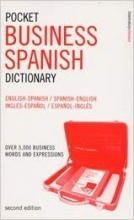 کتاب اسپانیایی Pocket Business Spanish Dictionary