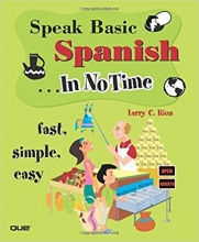 کتاب  اسپانیایی Speak Basic Spanish In No Time