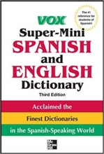 کتاب اسپانیایی Vox Super Mini Spanish and English Dictionary