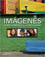 کتاب اسپانیایی Imágenes: An Introduction to Spanish Language and Cultures