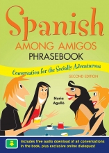 کتاب اسپانیایی Spanish Among Amigos Phrasebook