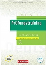 کتاب آلمانی آزمون گوته Prufungstraining Daf Goethe-Zertifikat B2 2019