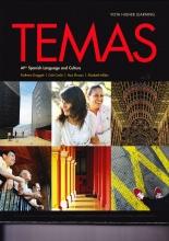 کتاب اسپانیایی Temas AP Spanish Language