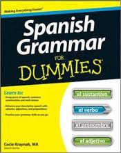 کتاب اسپانیایی Spanish Grammar For Dummies