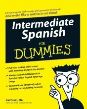 کتاب اسپانیایی Intermediate Spanish For Dummies