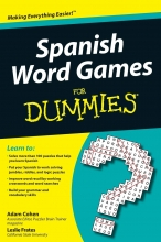 کتاب اسپانیایی Spanish Word Games For Dummies