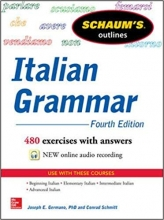کتاب  ایتالیایی  Schaum's Outline of Italian Grammar  4th Edition
