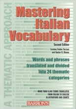 کتاب ایتالیایی  Mastering Italian Vocabulary  A Thematic Approach (Mastering Vocabulary Series)