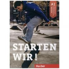 خرید کتاب زبان آلمانی اشتارتن ویر Starten Wir ! A1 (Textbook+Workbook) 2019 کتاب درس رنگی کتاب کار رنگی