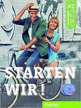 خرید کتاب زبان آلمانی اشتارتن ویر Starten Wir ! A2 (Textbook+Workbook) 2019 اورجینال (کتاب کار و دانش آموز رنگی گلاسه)