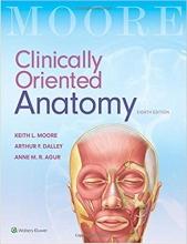 کتاب کلینیکالی اورینتد آناتومی Clinically Oriented Anatomy سیاه و سفید