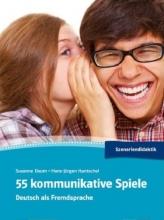 کتاب آلمانی 55 kommunikative Spiele