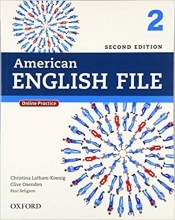 کتاب امریکن انگلیش فایل ویرایش دوم American English File 2nd Edition: 2 رحلی