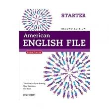 کتاب امریکن انگلیش فایل استارتر ویرایش دوم American English File 2nd Edition: Starter رحلی
