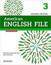 کتاب امریکن انگلیش فایل ویرایش دوم American English File 2nd Edition: 3 رحلی