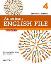 کتاب امریکن انگلیش فایل ویرایش دوم American English File 2nd Edition: 4 رحلی