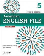 کتاب امریکن انگلیش فایل ویرایش دوم American English File 2nd Edition: 5 رحلی