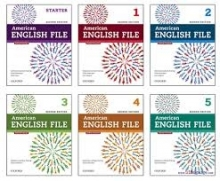پک 6 جلدی امریکن انگلیش فایل American English File رحلی ویرایش دوم تحریر