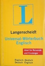 خرید دیکشنری دوسویه Langenscheidt, Universal-Wörterbuch Englisch : Englisch-Deutsch, Deutsch-Englisch جیبی
