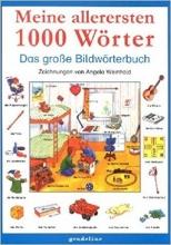 خرید كتاب Meine allerersten 1000 Wörter Das große Bildwörterbuch