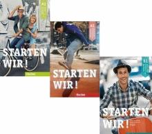 خرید سه جلدی آلمانی اشتارتن ویر Starten Wir A1+A2+B1+CD