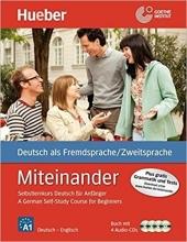 کتاب آلمانی Miteinander  German Self-Study Course for Beginners