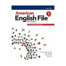 خرید کتاب امریکن انگلیش فایل 1 ويرايش سوم : American English File 3rd Edition