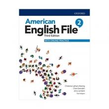 خرید کتاب امریکن انگلیش فایل 2 ويرايش سوم : American English File 3rd Edition