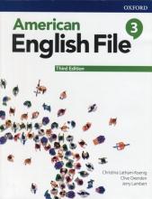 خرید کتاب امریکن انگلیش فایل 3 ويرايش سوم : American English File 3rd Edition
