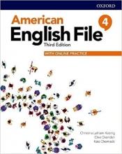خرید کتاب امریکن انگلیش فایل 4 ويرايش سوم : American English File 3rd Edition