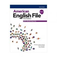 خرید کتاب امریکن انگلیش فایل استارتر ويرايش سوم American English File 3rd Edition: Starter