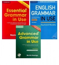 خرید پک 3 جلدی گرامر این یوز بریتیش Grammar in Use British