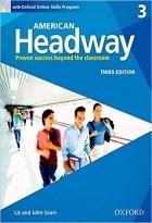 خرید کتاب امریکن هدوی American Headway 3 (3rd) SB+WB+CD