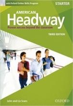 خرید کتاب امریکن هدوی استارتر American Headway Starter Third Edition