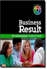 خرید کتاب بیزینس ریزالت Business Result Pre-Intermediate Student's Book