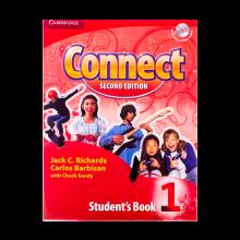 خرید کتاب کانکت ویرایش دوم Connect 1 Students Book, Work Book (2nd) with 2 CD