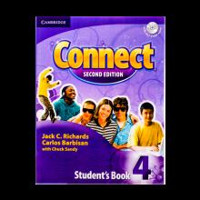 خرید کتاب کانکت ویرایش دوم Connect 4 Students Book, Work Book (2nd) with 2 CD