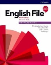 خرید كتاب انگلیش فایل المنتری ویرایش چهارم English File Elementary (4th) SB+WB+CD