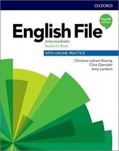 خرید كتاب انگلیش فایل اینترمدیت ویرایش چهارم English File intermediate (4th) SB+WB+CD