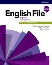 خرید كتاب انگلیش فایل بگینر ویرایش چهارم English File Beginner (4th) SB+WB+CD