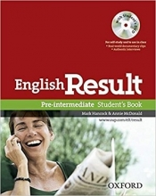 خرید کتاب انگلیش ریزالت English Result Pre-intermediate Student & Work & Answer Key&CD+DVD