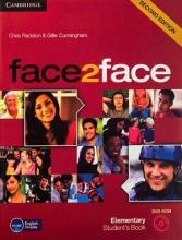خرید کتاب فیس تو فیس المنتری ویرایش دوم face2face Elementary 2nd s.b+w.b+dvd