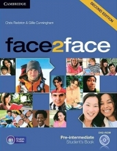 خرید کتاب فیس تو فیس پری اینترمدیت ویرایش دوم face2face pre-intermediate 2nd s.b+w.b+dvd