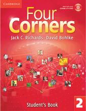 خرید کتاب فورکرنرز ویرایش قدیم Four Corners 2 Student Book and Work book with CD