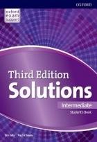 خرید کتاب سولوشنز اینترمدیت ویرایش سوم Solutions Intermediate 3rd Edition