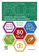 خرید کتاب آلمانی 80 Fälle Anästhesie Intensivmedizin Notfallmedizin Schmerzmedizin (رنگی )