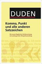 خرید کتاب آلمانی Duden - Komma, Punkt und alle anderen Satzzeichen