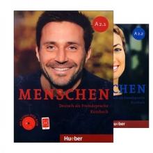 خرید پک دوجلدی منشن Menschen A2
